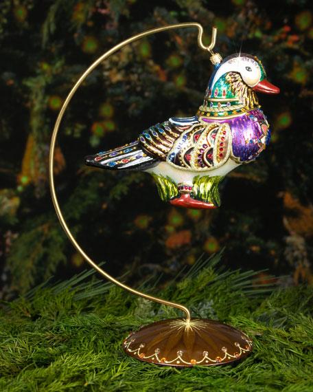 Mandarin Duck Christmas Ornament