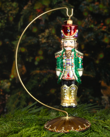 Royal Nutcracker Christmas Ornament