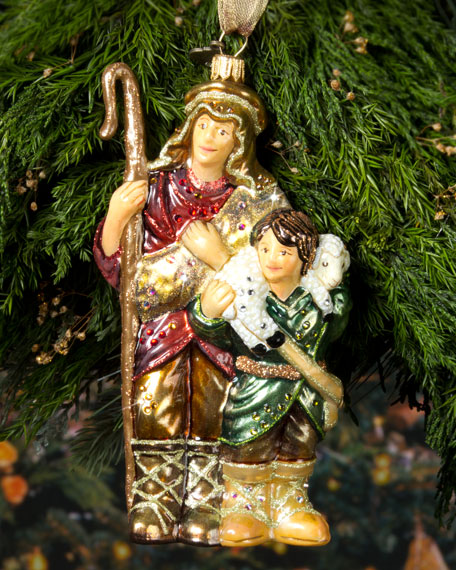 Shepherd Christmas Ornament