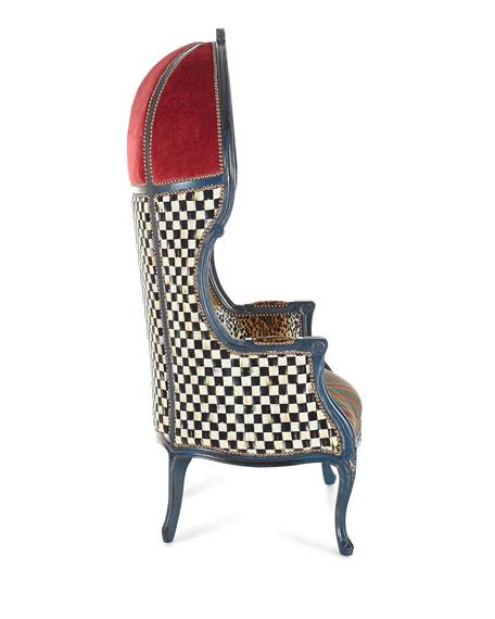 Mackenzie Childs The Royals Bonnet Chair