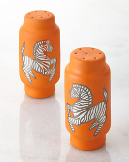 Zebra Salt & Pepper Shakers