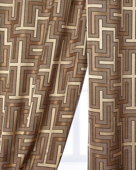 """Each 52""""W x 96""""L Maze Curtain"""
