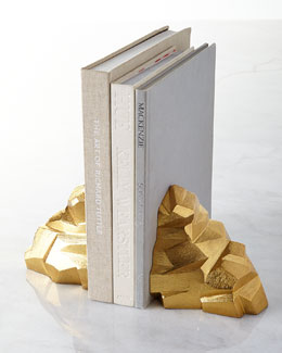 Michael Aram Rock Bookends