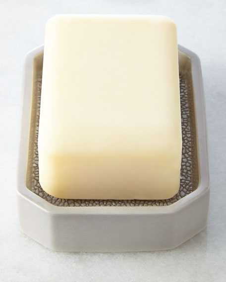 """Shagreen"" Soap Dish"