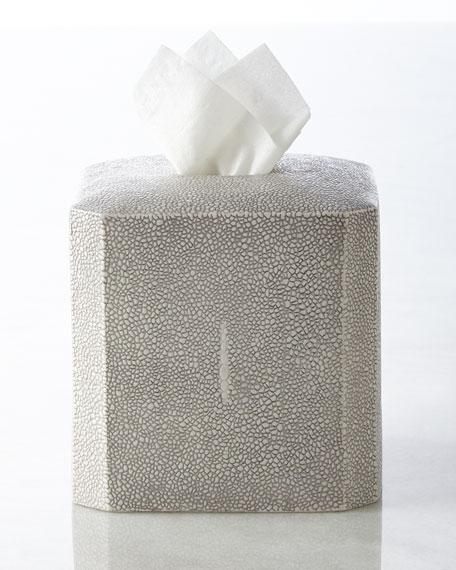 """Shagreen"" Tissue Box Cover"