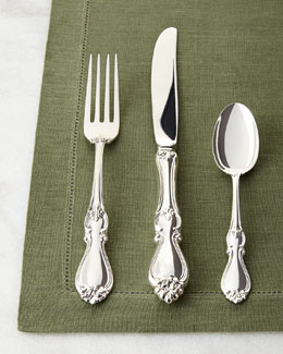 LIFETIME BRANDS 32-Piece Queen Elizabeth I Sterling Silver Flatware Service