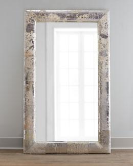 Aldo Silver Hairhide Mirror