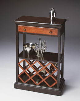 Contrasting Wine Console