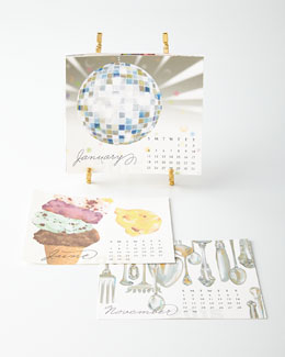 KELLY KAY 2015 Desk Calendar with Easel