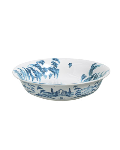 Country Estate Kite Fliers Serving Bowl