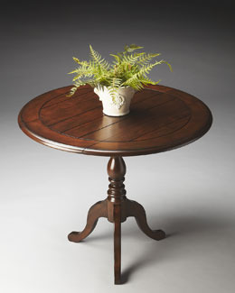Drop-Leaf Accent Table