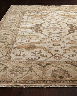 Exquisite Rugs Hedrick Oushak Rug, 8' x 10'