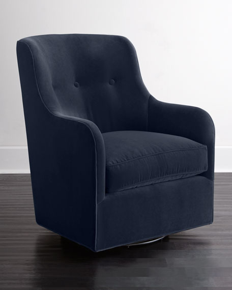Navy Blue Swivel Chair Droughtrelief Org