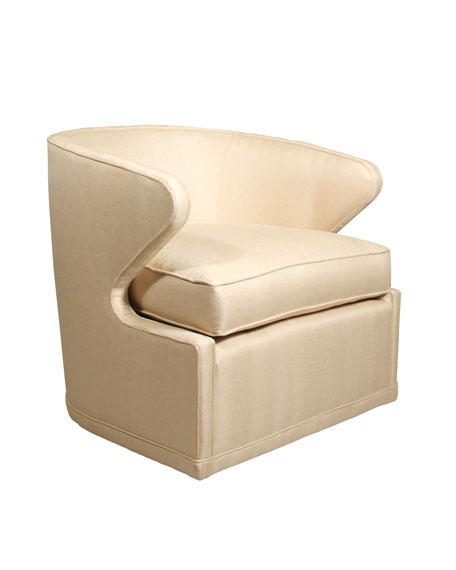 Dyna St. Clair Gold Swivel Chair