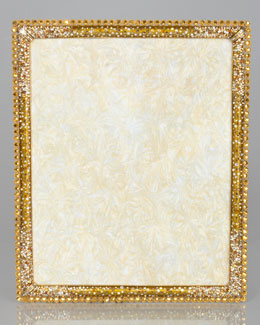 "Jay Strongwater Stone Edge 8"" x 10"" Frame"