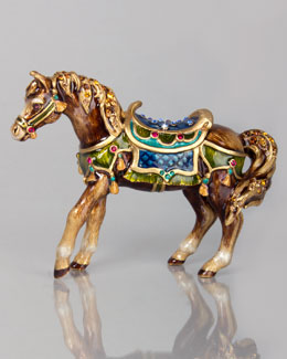 Jay Strongwater Abbey Horse Figurine