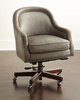 Capri Leather Office Chair