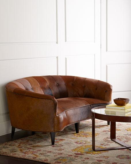 Leather Furniture Hickory North Carolina: Old Hickory Tannery Sandrine Sofa