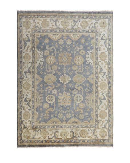 Blue Ivy Oushak Rug, 8' x 10'