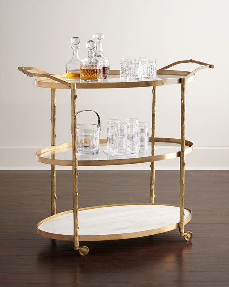 Danese Bar Cart