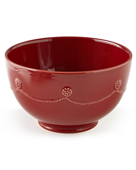 Berry u0026 Thread Ruby Cereal Bowl  sc 1 st  Horchow : juliska berry and thread dinnerware - Pezcame.Com