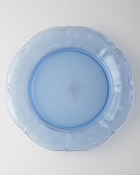 Four Delft-Blue Colette Dinner Plates