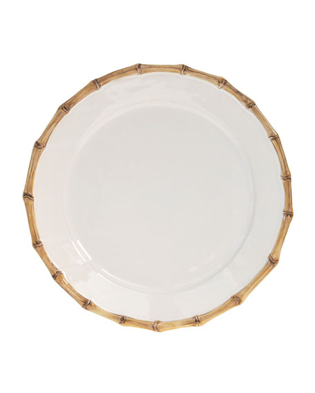 """""""Bamboo"""" Charger Plate"""