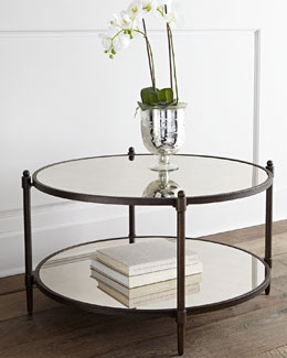 Julio Mirrored Coffee Table