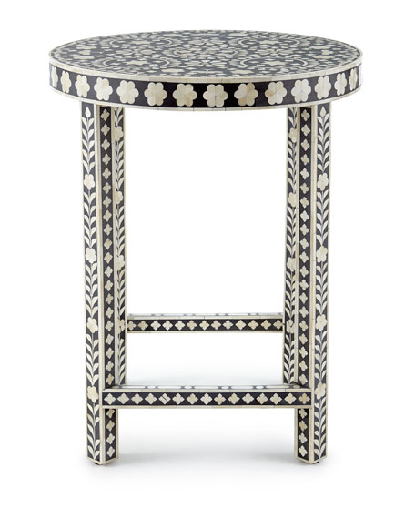 Mia Inlay Accent Table