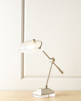 Devlin Crystal Desk Lamp