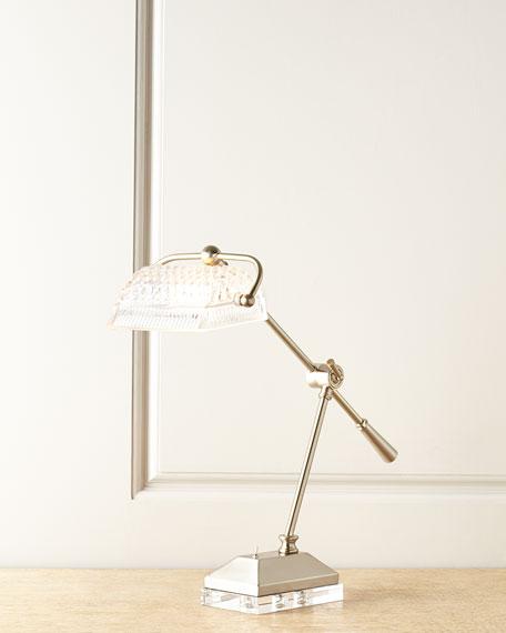 Devlin Crystal Desk Lamp