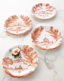 Four Country Estate Autumn Party Plates