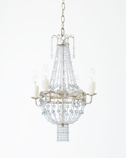 Maris Four-Light Mini Beaded Chandelier