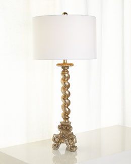 Twisted Buffet Lamp