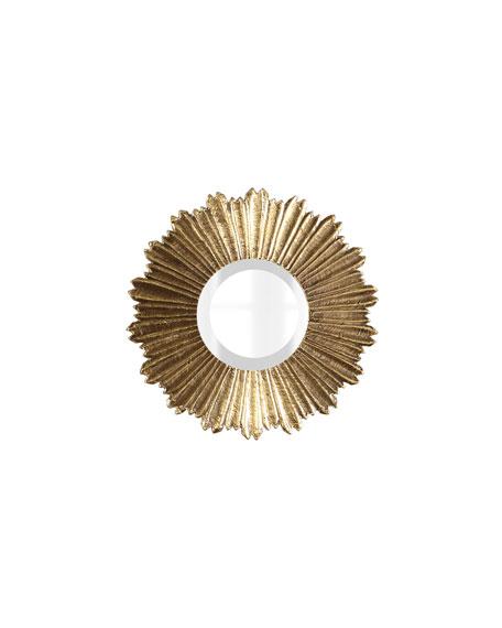 Soliel Small Gold Mirror