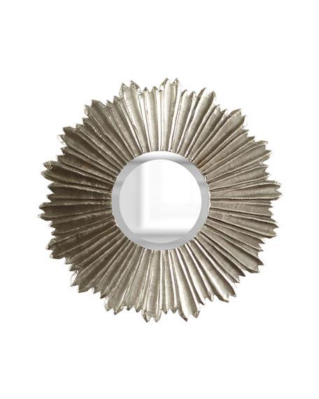 Soliel Large Silver Mirror