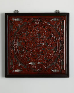 Antique Medallion Wall Panel