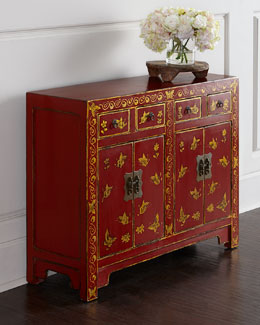 Antique Chinoiserie Cabinet