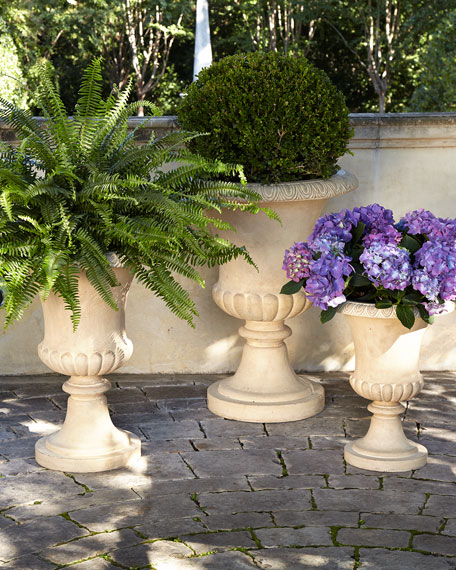 Andros Medium Traditional Urn Planter