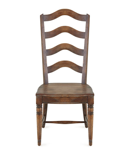 Vickery Ladderback Side Chairs, Pair