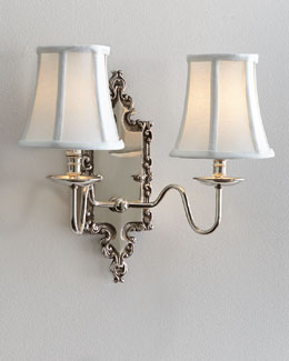 Stanwick Double Sconce
