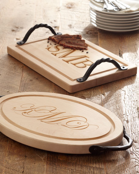 Large Rectangular Personalized Cutting Board