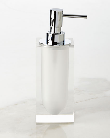 White Hollywood Pump Dispenser