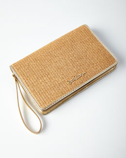 Happy Hour Straw Wristlet