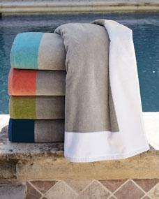Peacock Alley Soleil Beach Towel