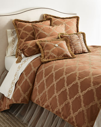 King Versailles Sham with Cording