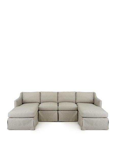 Harrison Vesper Four-Piece Outdoor Sectional
