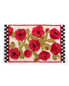 MacKenzie-Childs Poppy Bath Mat