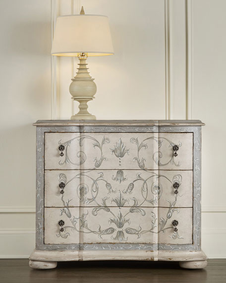 Heritage Hand Painted Chest