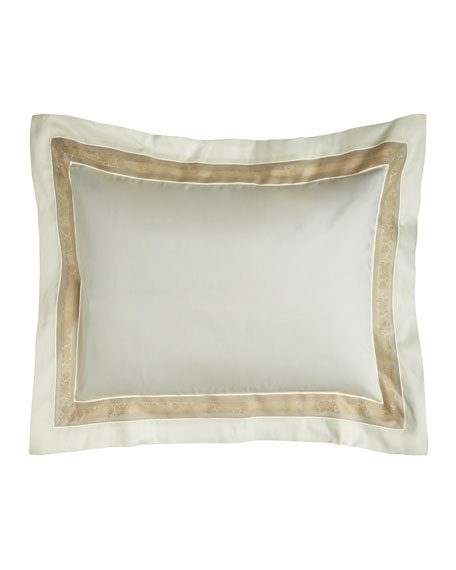King 300 Thread Count Garland Pillowcase